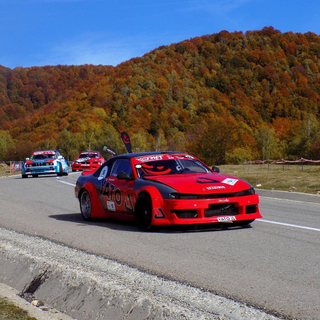 Nissan S14 with a Twin-Turbo Porsche V8