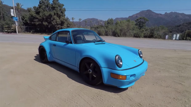 Porsche 964 Turbo with an ANDIAL 3.8 L Flat-Six