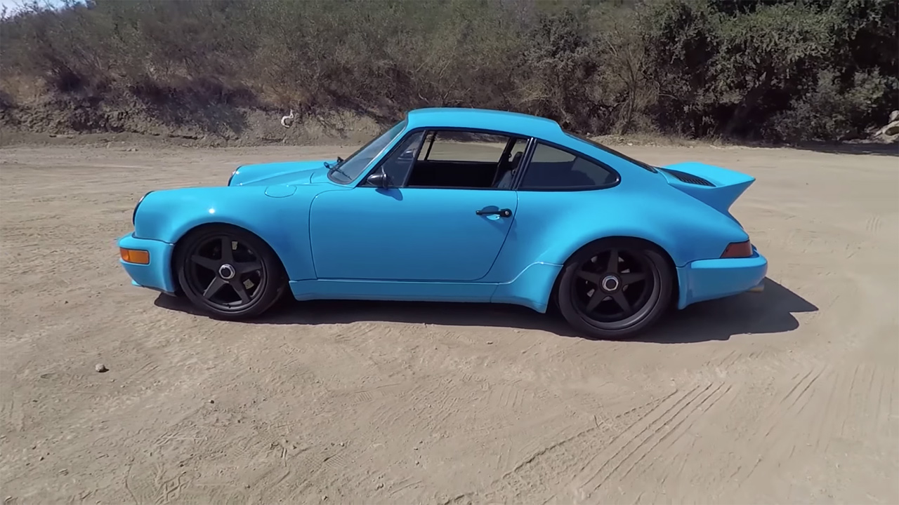 porsche 964 turbo with an andial 3 8 l flat six. Black Bedroom Furniture Sets. Home Design Ideas