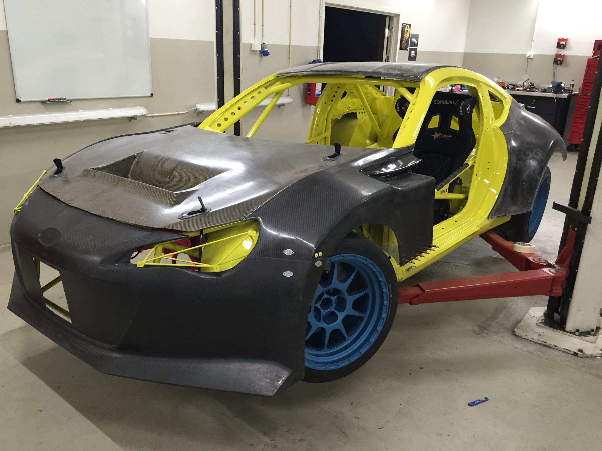 Team Yellow Drift And Racing In Rakkestad Norway Is Building One Mean Subaru BRZ For Time Attack The Purchased 2012 RA New From Japan