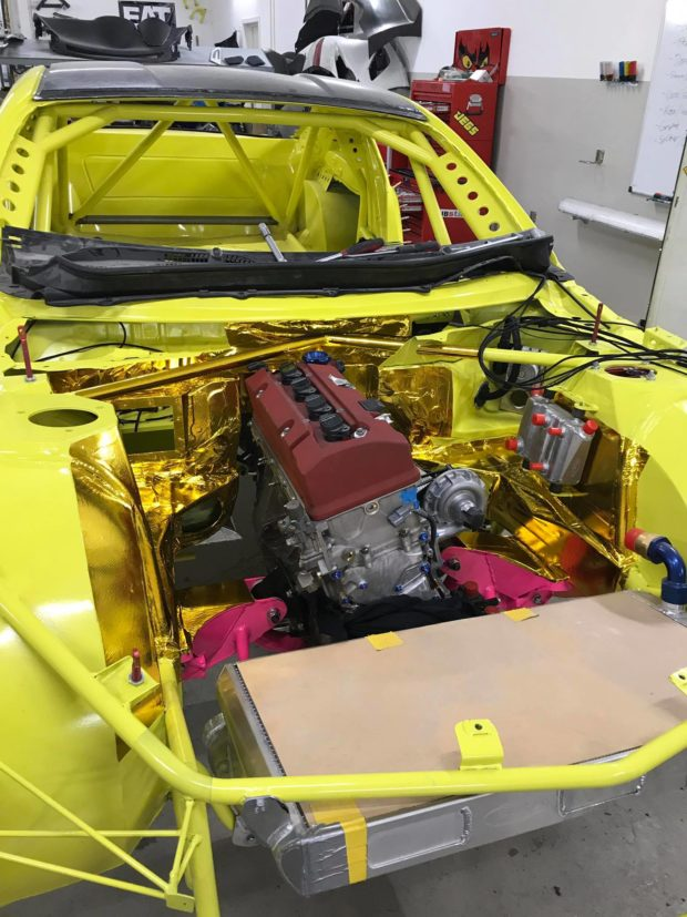 Subaru BRZ with a Turbo F20C inline-four