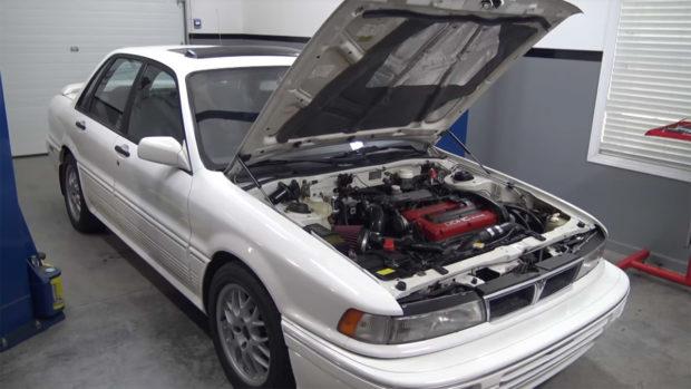 TTG 1991 Galant with a 4G63 swap