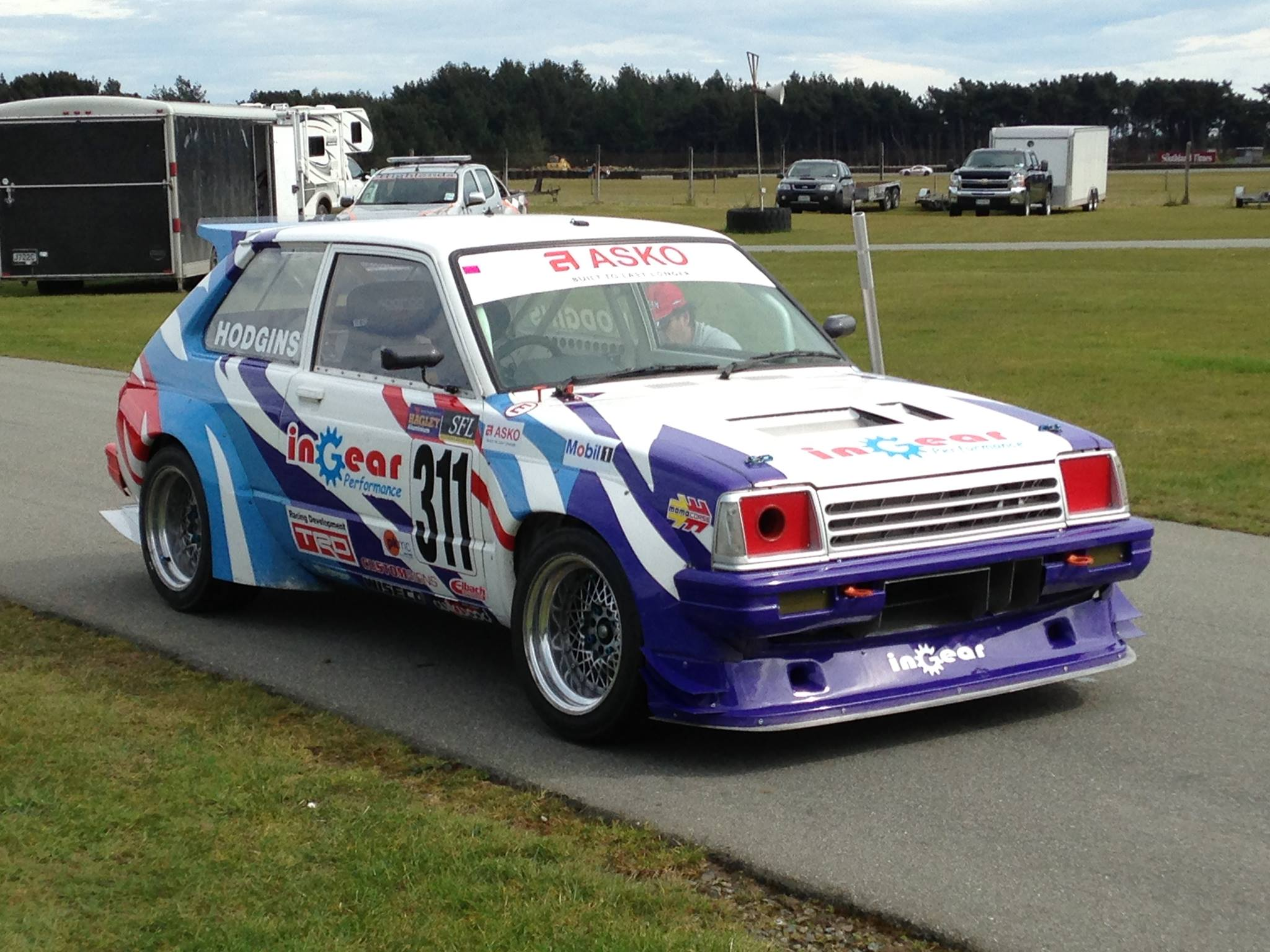 Toyota Starlet with a Formula Atlantic 4A-GE Inline-Four – Engine ...