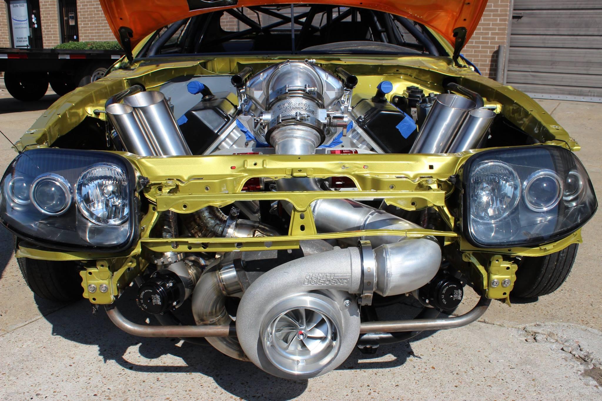 Toyota Supra With A Turbo Hemi V8 Engine Swap Depot