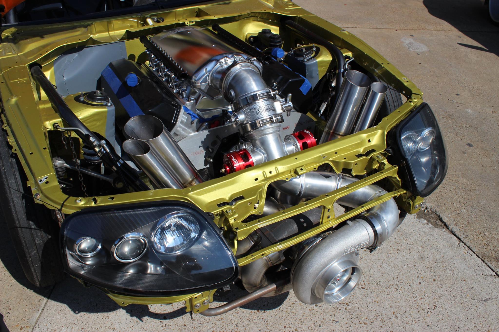 Hemi Swap Wiring Harness Real Diagram Toyota Supera Supra With A Turbo V8 Engine Depot 61 64