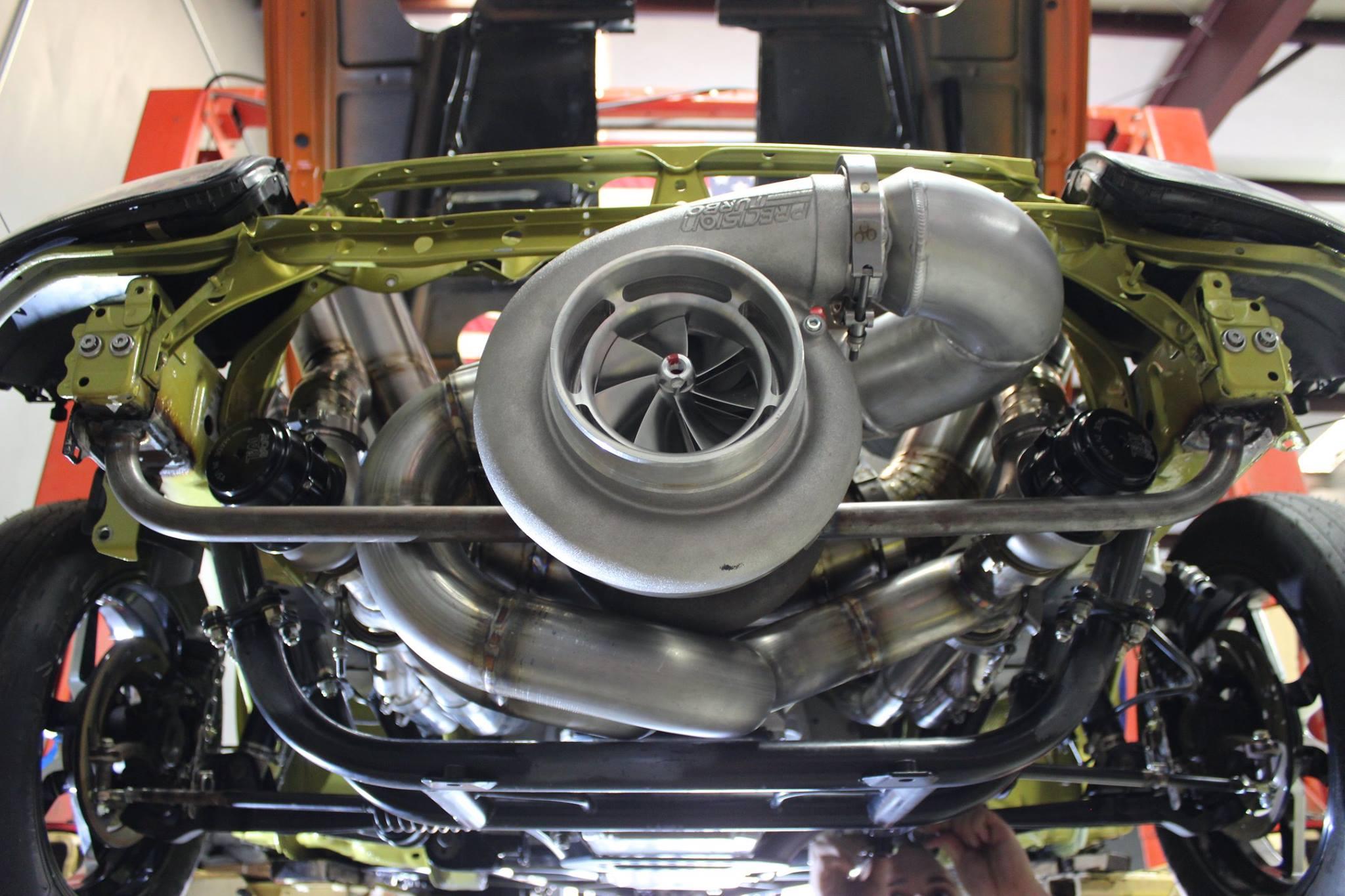 Toyota-Supra-with-a-Turbo-Hemi-V8-03 Automotive Wiring Harness on