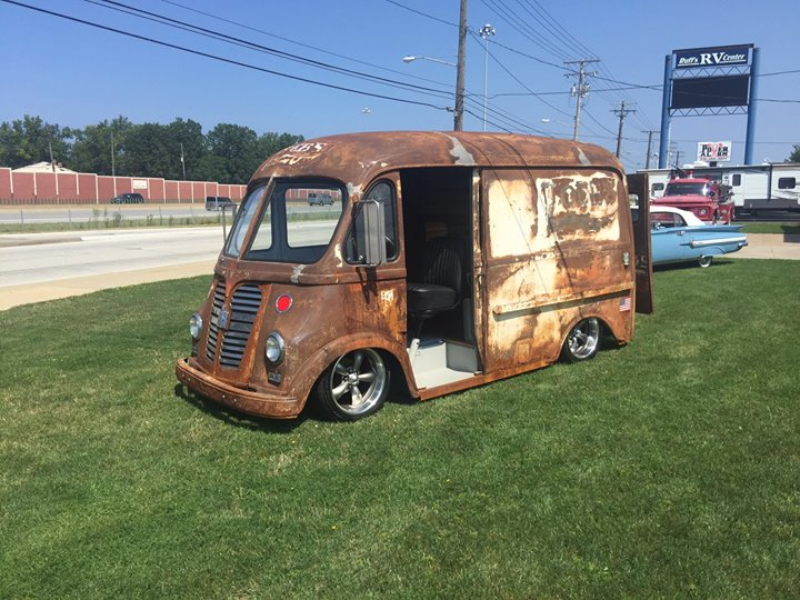 for sale  1953 international harvester metro van with a