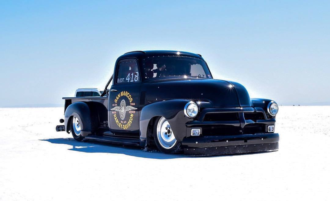 1954 Chevy Truck With A Quad Turbo Duramax V8 Engine Swap Depot