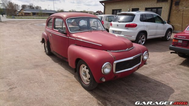 Volvo Pv544 With A 38 L Diesel V12  U2013 Engine Swap Depot
