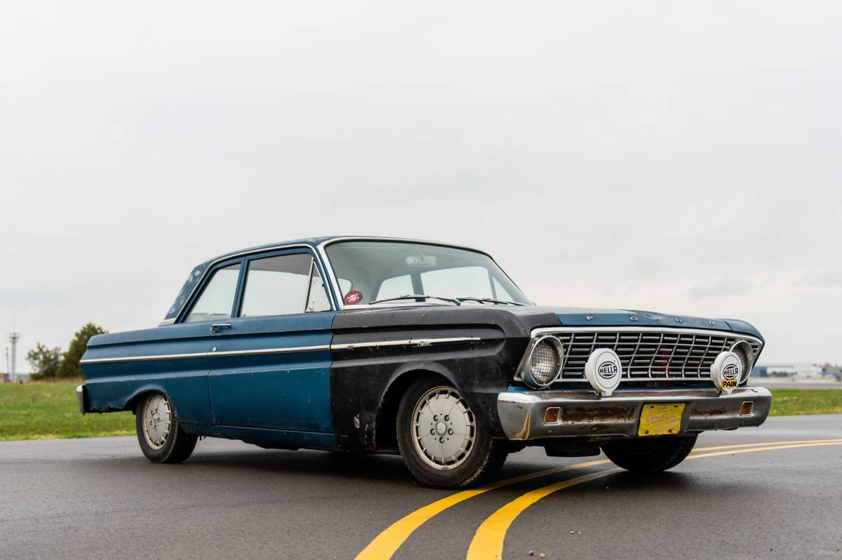 for sale 1964 ford falcon with a mercedes diesel inline four rh engineswapdepot com Chevrolet 5 Speed Manual Transmission Clark 5 Speed Manual Transmission