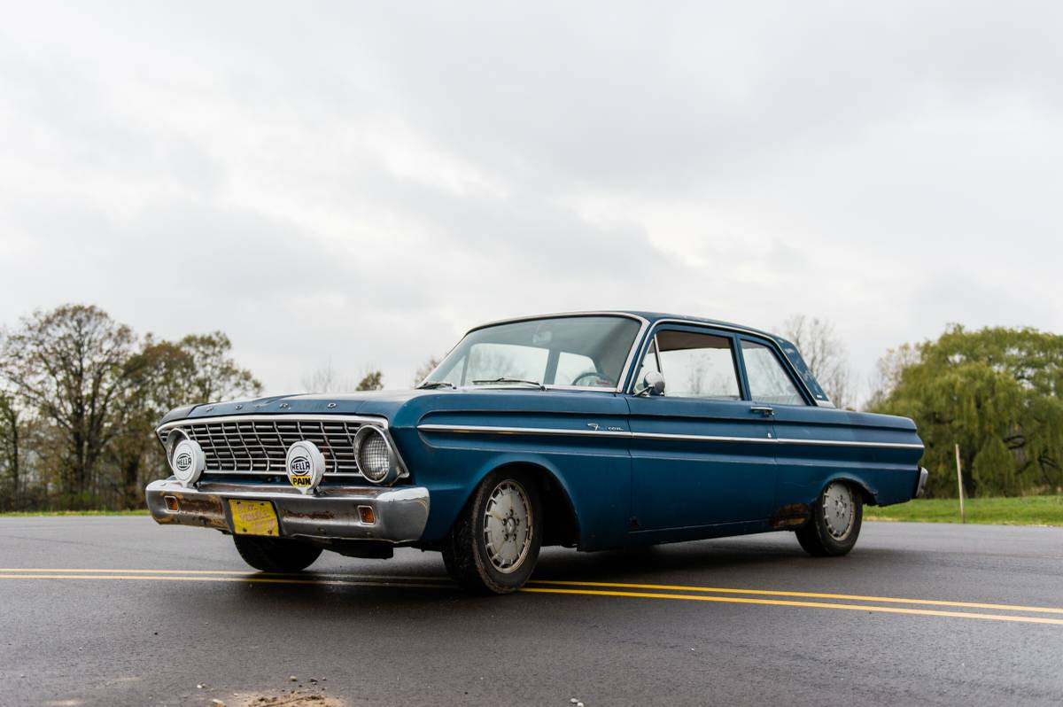 for sale 1964 ford falcon with a mercedes diesel inline. Black Bedroom Furniture Sets. Home Design Ideas