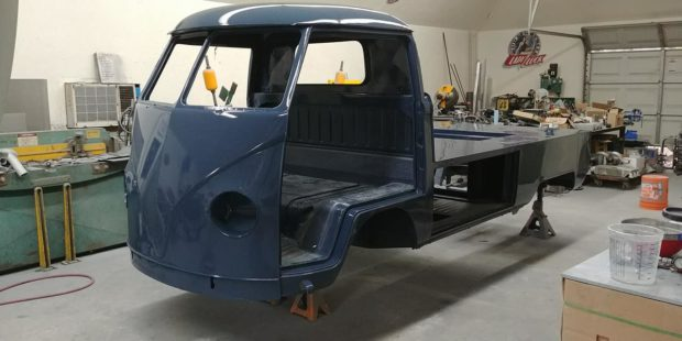 1965 VW Single Cab with a Subaru EG33 Flat-Six