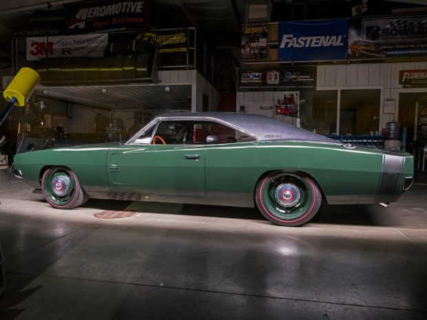 1969 Charger with a 392 ci HEMI V8