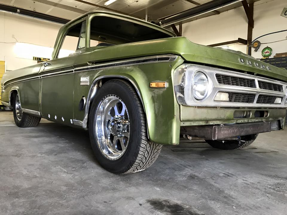 1970 Dodge Truck with Two Twin-Turbo Cummins Inline-Six