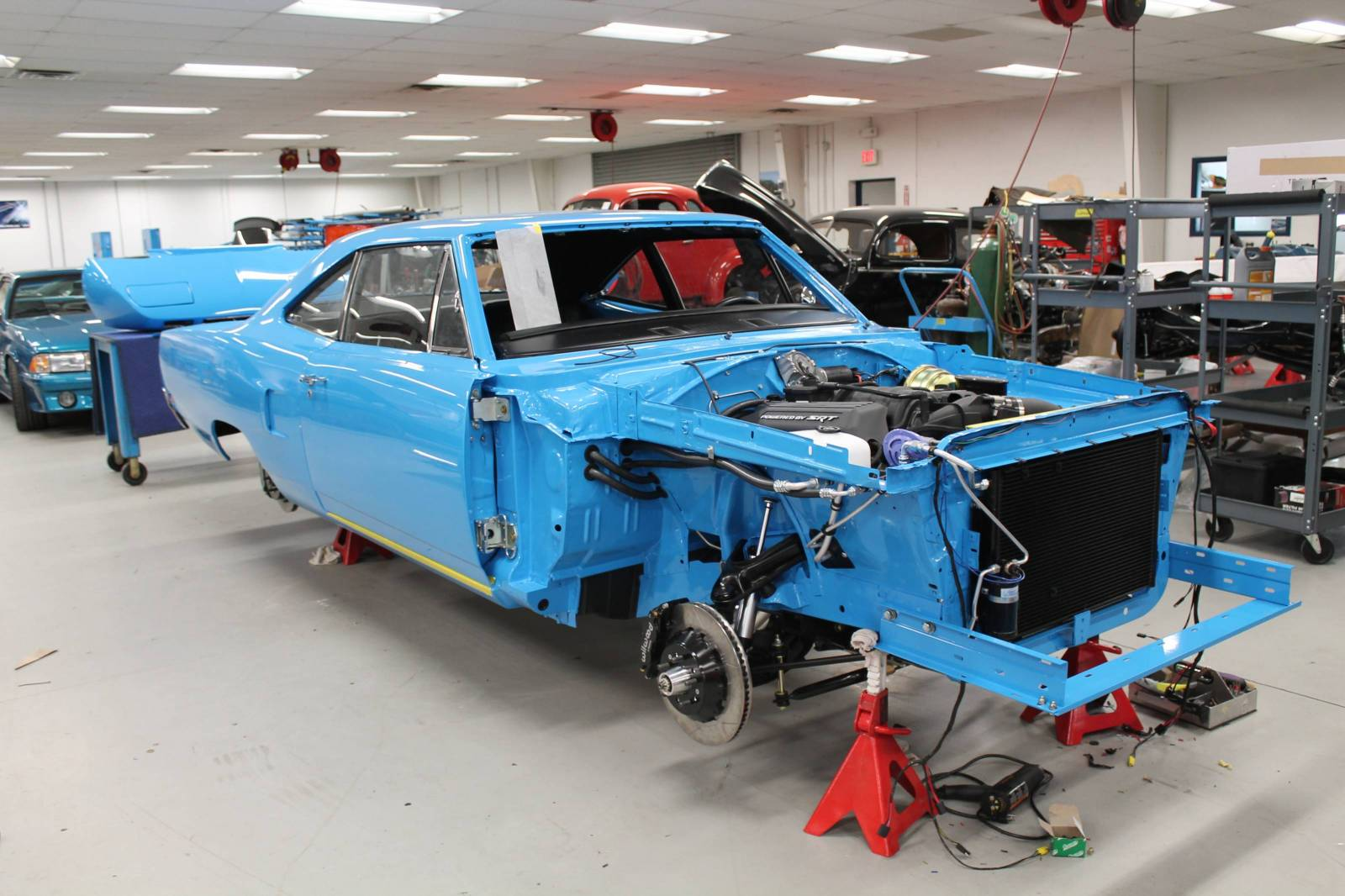 Plymouth Superbird Clone With A Ci Hemi V