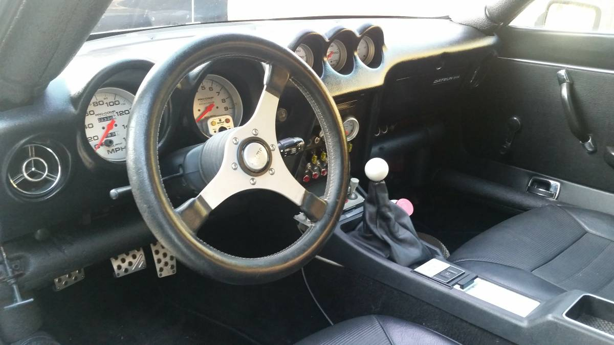 For Sale: Datsun 240Z PrimaDonna with a Chevy V8 – Engine ...
