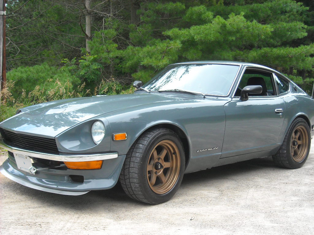 datsun 240z with a bmw inline six engine swap depot. Black Bedroom Furniture Sets. Home Design Ideas
