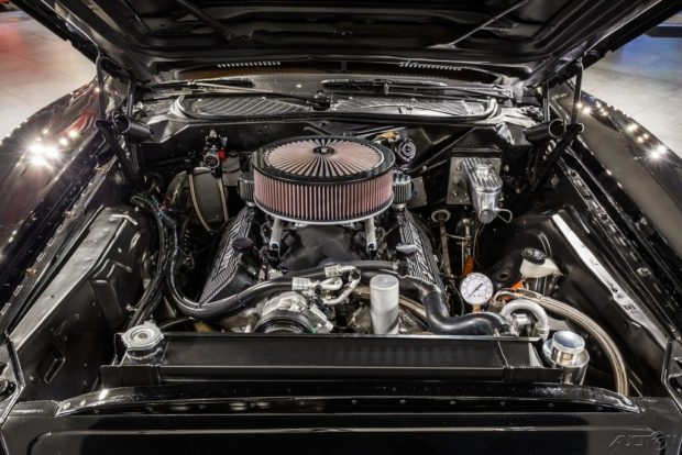 1972 Dodge Charger with a NASCAR V8
