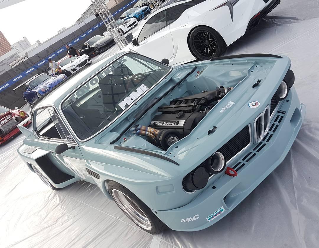 1973 BMW 30 CS With A Turbo S52 Inline Six Engine Swap