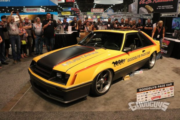 1979 Mustang with a Coyote V8