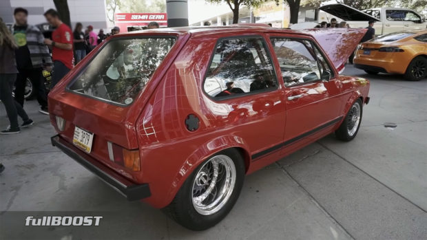1984 VW Rabbit with a 6.0 L LSx V8