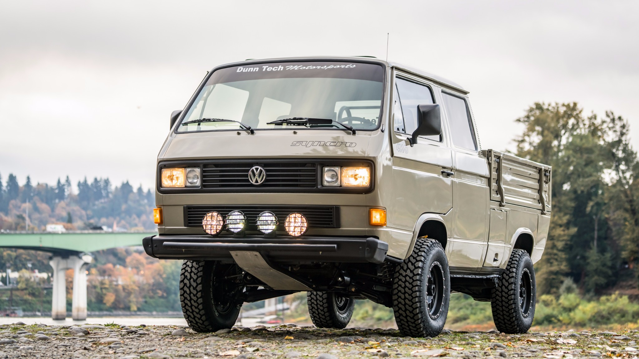 1989 VW Transporter with an Ecotec Inline-Four