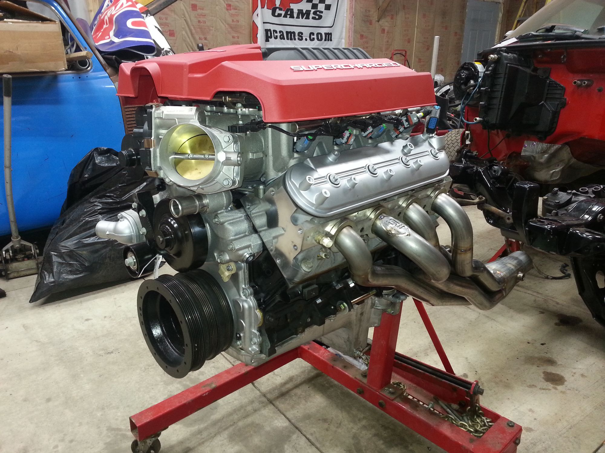 Chevy S10 with a Supercharged 6.0 L LSx V8 – Engine Swap Depot on