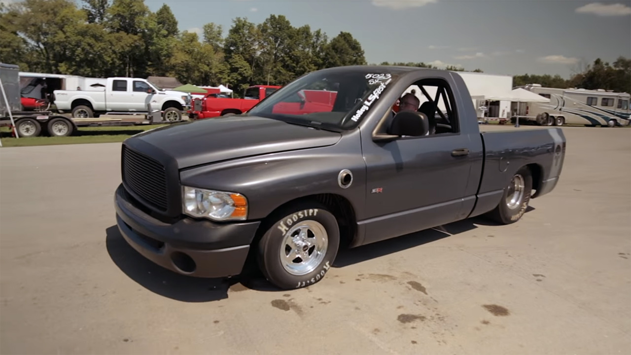 2004 dodge ram with a twin turbo lsx v8 engine swap depot. Black Bedroom Furniture Sets. Home Design Ideas