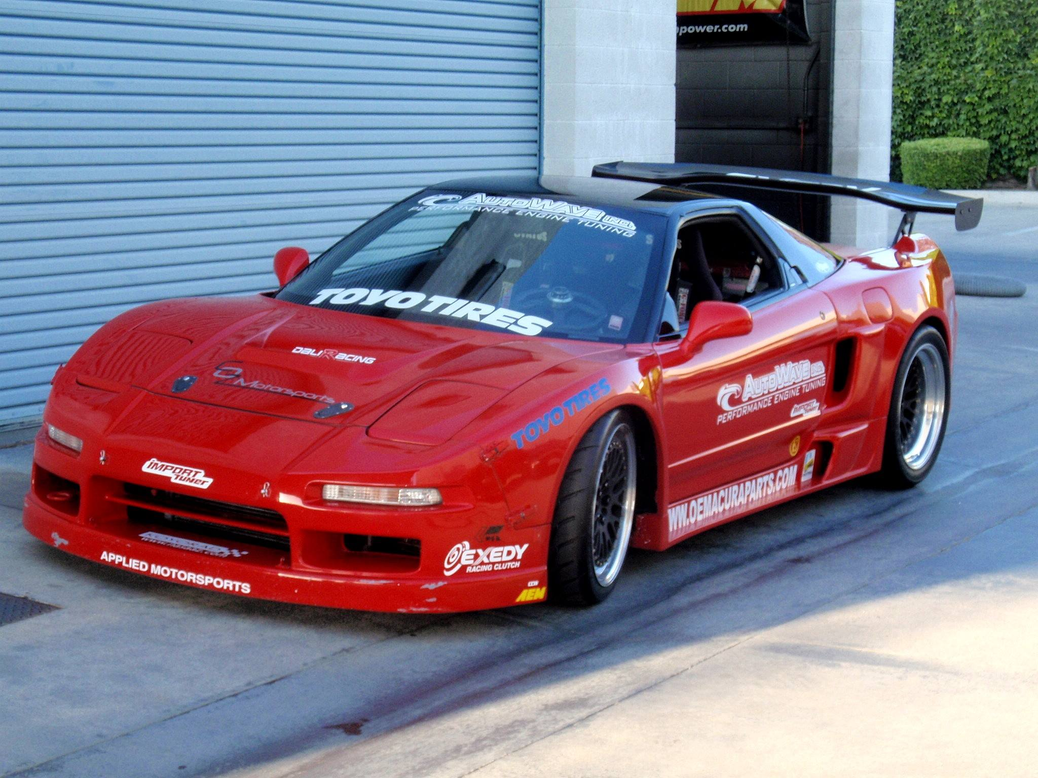 Acura Nsx With A J32a V6 Engine Swap Depot