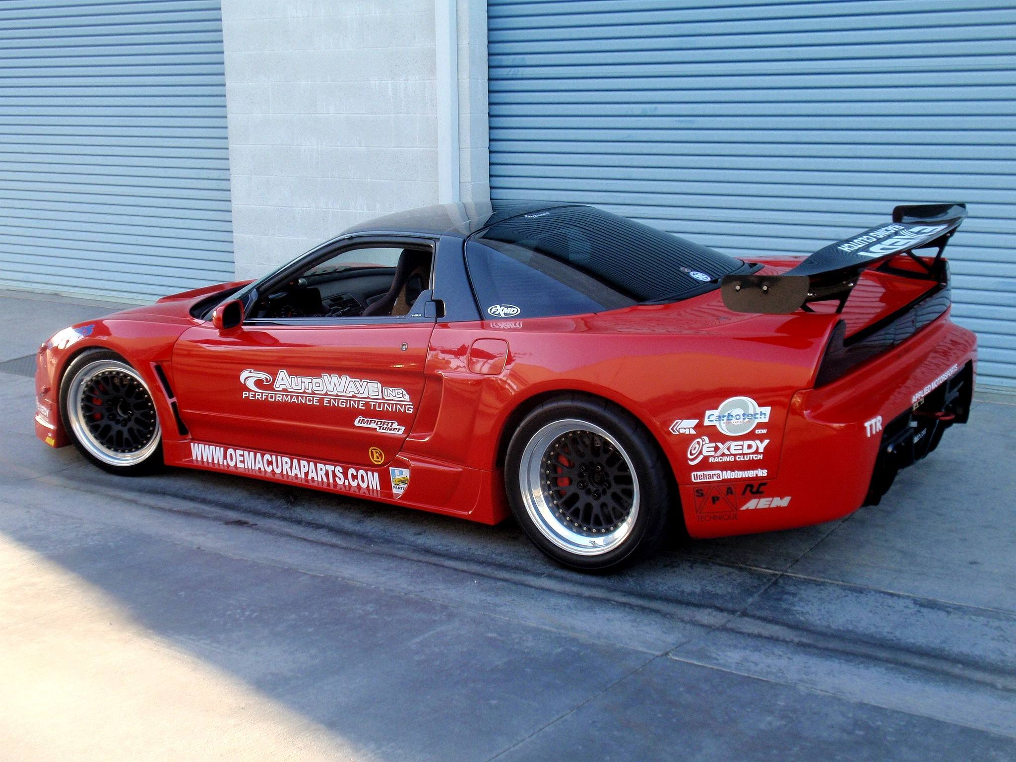 Acura Nsx With A J32a V6 Engine Swap Depot Honda Wiring Harness You Can Even Buy David Dowlings Kit If Wish To Install J Series In Your