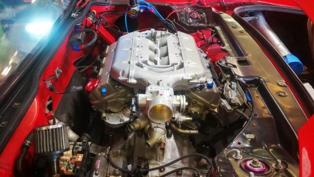 Acura NSX with a J32 V6