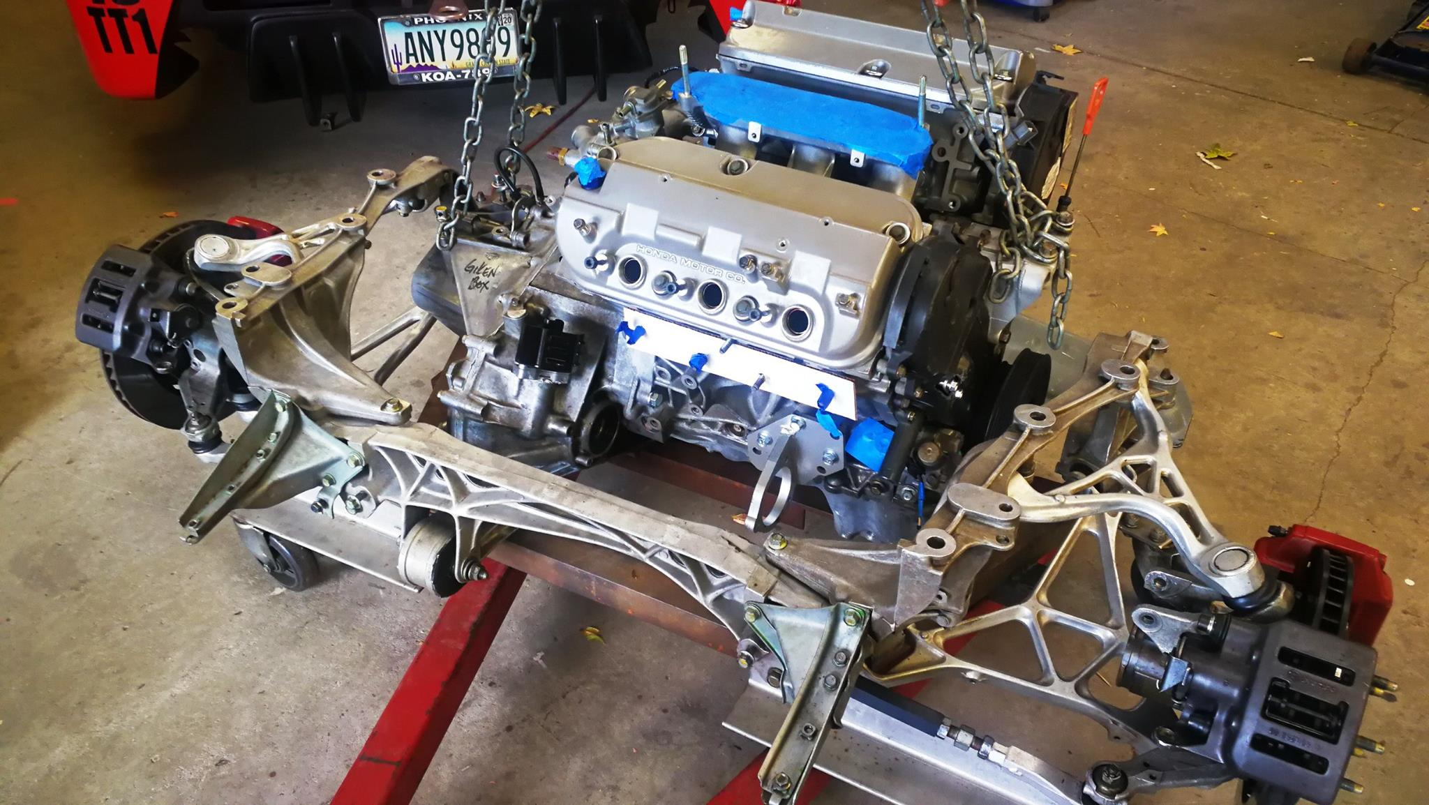 Acura Nsx With A J32a V6  U2013 Engine Swap Depot