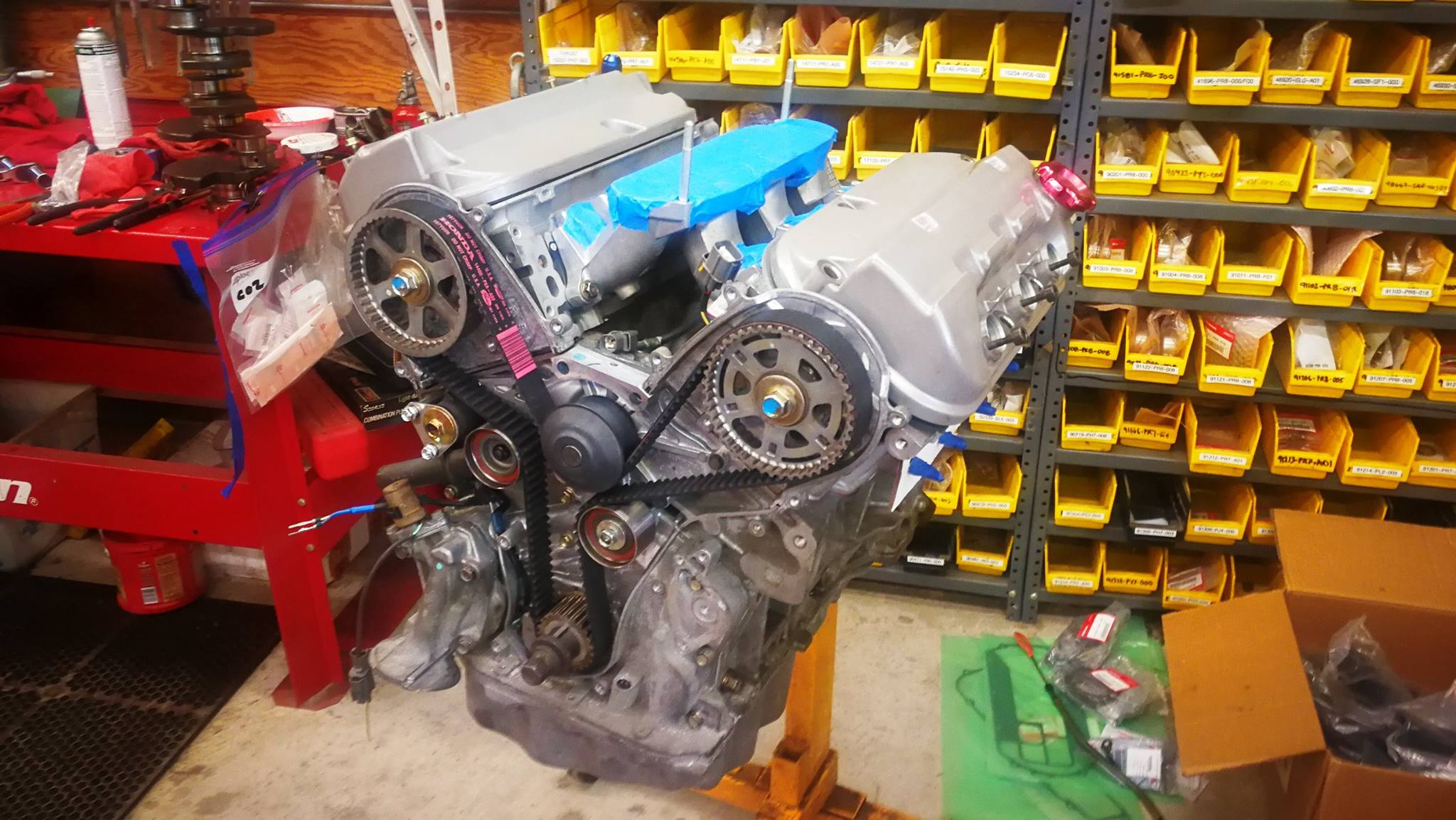 Acura Nsx With A J32a V6  U2013 Engine Swap Depot