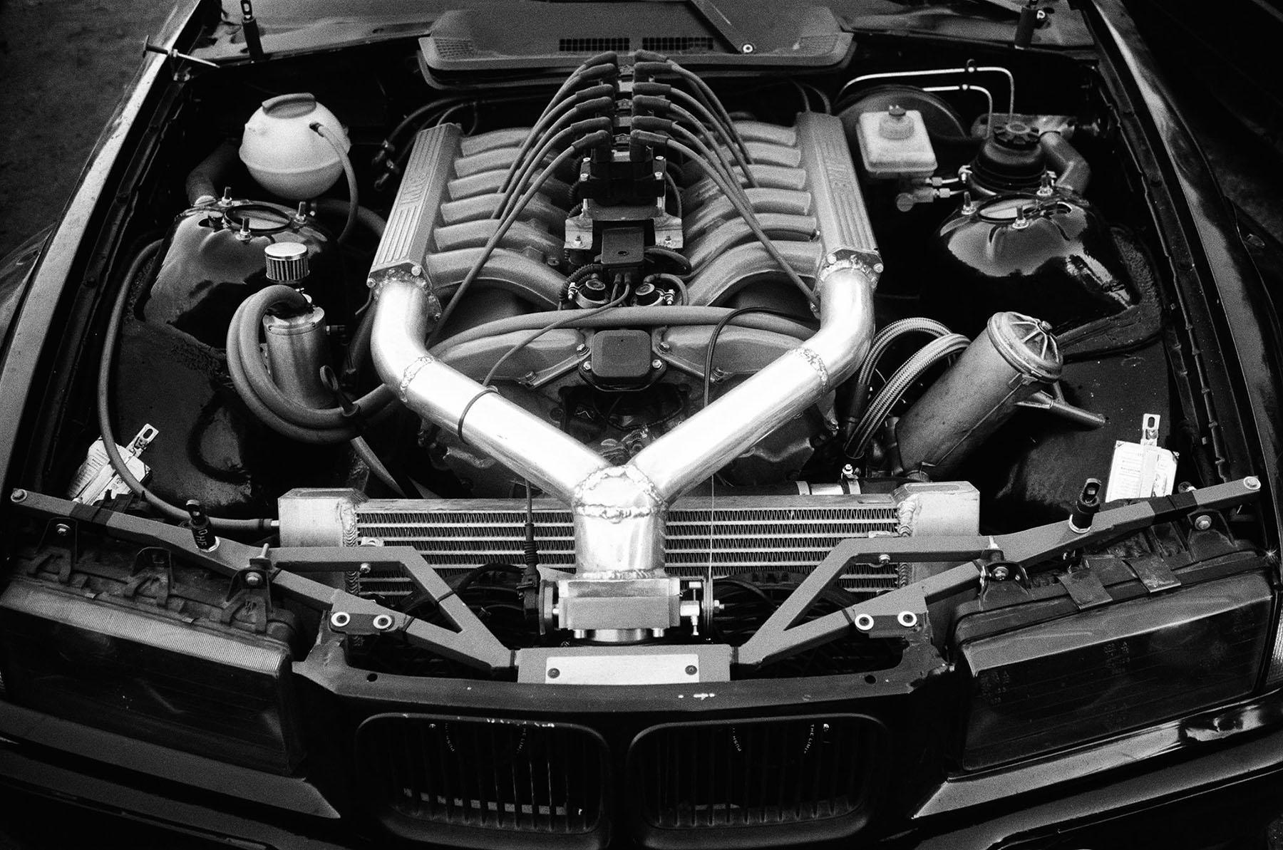 Bmw E36 With A M73 V12 Engine Swap Depot