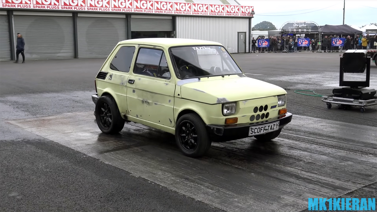 Fiat 126 With A 3s