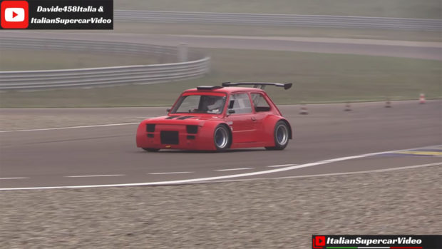 Fiat 126 with a Honda CBR1100XX inline-four