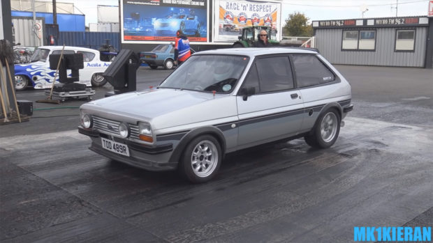 Ford Fiesta with a Mid-Engine Subaru Flat-Four