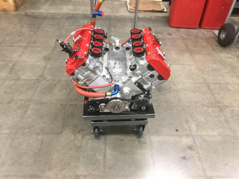 JFC Racing Purchased Hartley's 3 0 L Bolt V8 to Develop and Sell