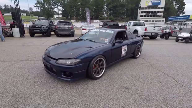 Nissan 240SX with a Twin-Turbo RB26/30 Inline-Six