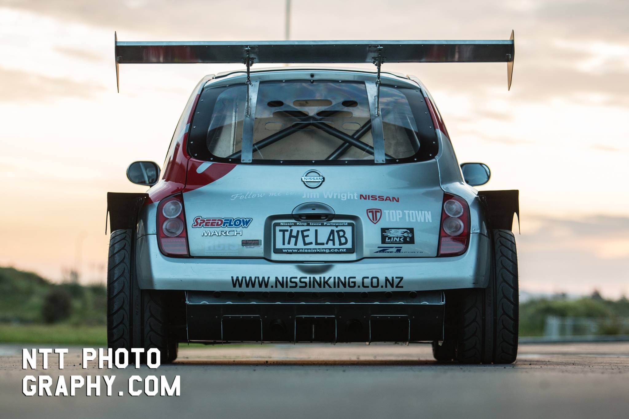 Nissan March with a Mid-Engine Twin-Turbo V6 – Engine Swap ...