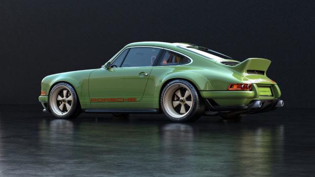 Singer DLS Porsche 964 with a Air-Cooled 4.0 L Flat-Six