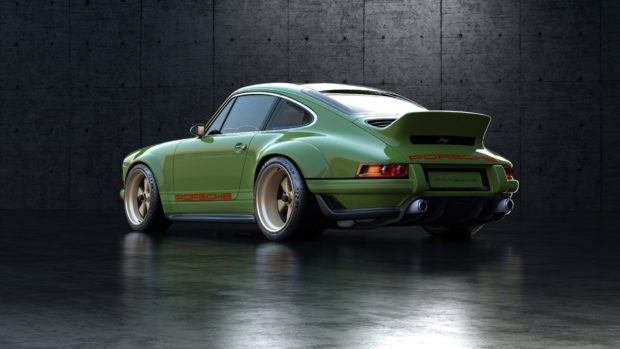 Singer DLS Porsche 964 with a Air-Cooled 4.0 L Flat-Six