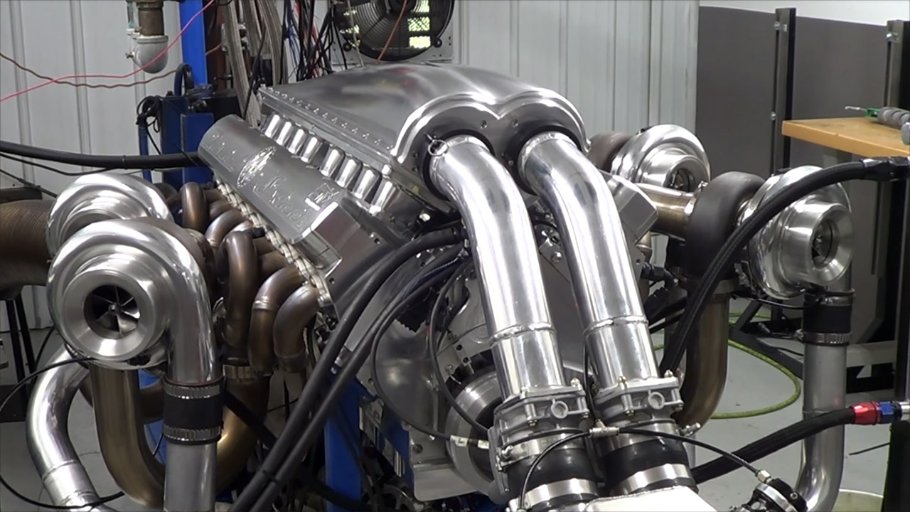 Steve Morris Engines quad-turbo V16