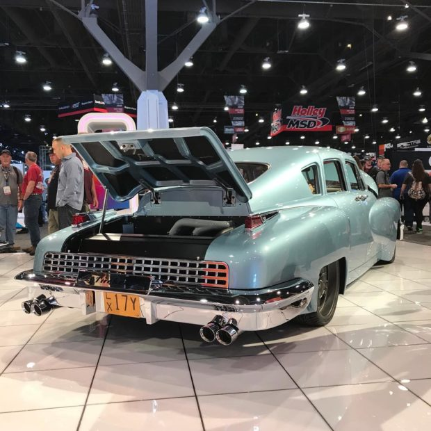 Tucker Replica with a Twin-Turbo Northstar V8