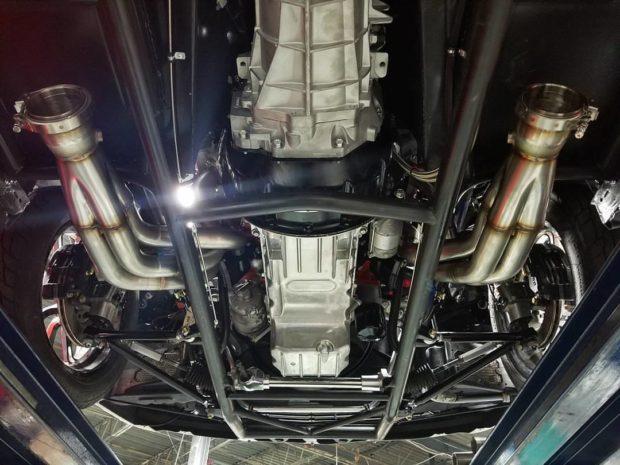 custom Toyota Prius with a Hellcat V8
