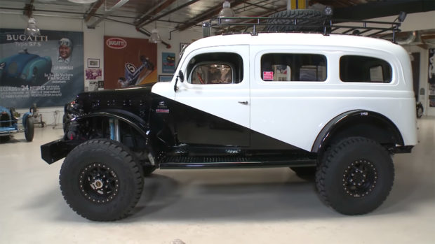 1942 Dodge Carryall with a 4BT turbo diesel