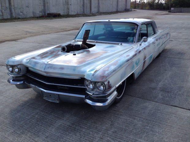 1963 Cadillac with a 6BT diesel inline-six