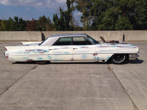 1963 Cadillac with a 6BT diesel inline-six