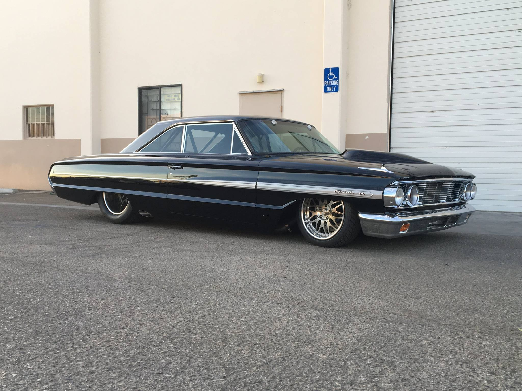 1964 Ford Galaxie with a Twin Turbo Cammer V8 03 1964 galaxie with a twin turbo cammer v8 engine swap depot
