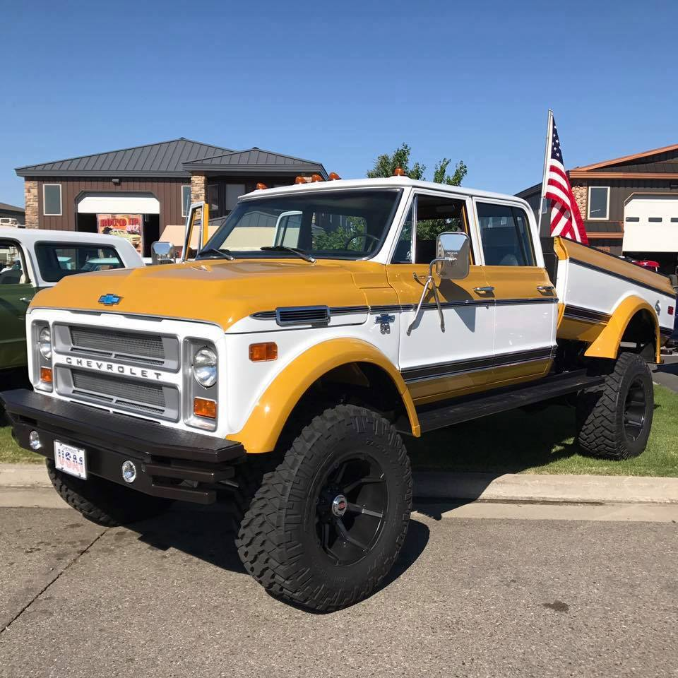 1972 Chevy K50 with a 6BT Inline-Six – Engine Swap Depot